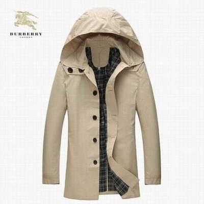Manteau burberry homme pas cher